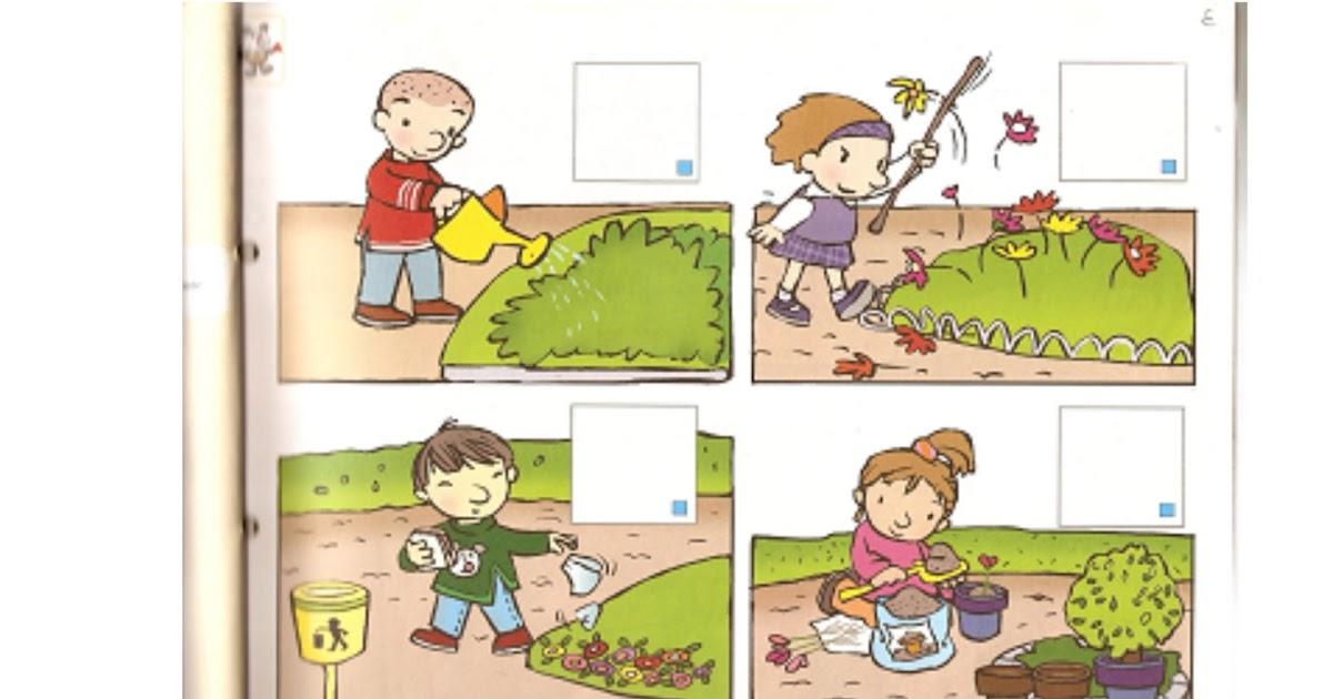 La naturaleza es nuestra amiga actividades para for Como crecen los arboles para ninos