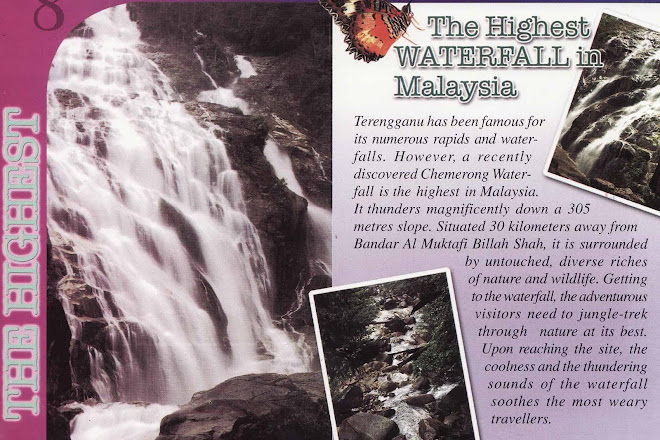 THE HIGHEST WATERFALL IN MALAYSIA