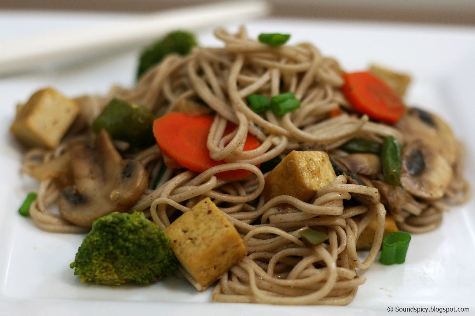 Soba Stir Fry | Sound'spicy