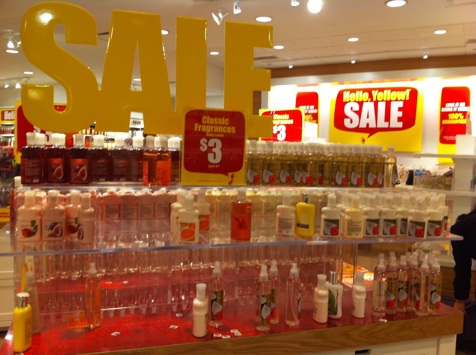 Bath and Body Works is having a HUGE sale  Many items in the store are only   3   YES  And they include big bottles of lotion and shower. Diva Makeup Queen  HUGE Sale  Bath and Body Works