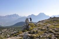 Alpenüberquerung Christian mit dem Fahrrad...