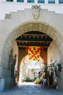Santa Barbara County Historic Courthouse's main entrance
