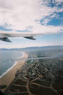 Aerial view of Los Angeles International Airport