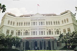 Raffles Hotel Singapore Façade