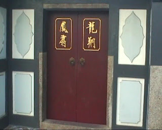 Thian Hock Keng Temple singapore, door