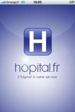 hopital.fr sur iphone