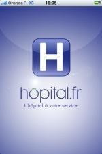 hopital.fr sur iphone
