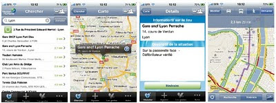 geolocalisation application iphone defibrillateurs en france de vauban humanis