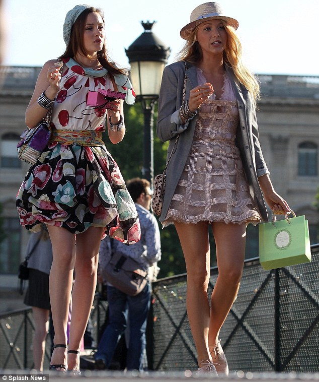 the wardrobe being worn beautifully by Blake Lively and Leighton Meester