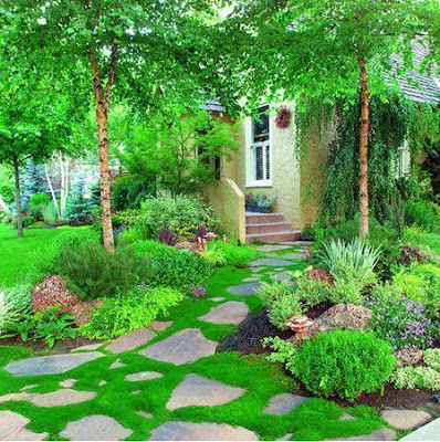 Garden landscaping garden landscape design beautiful for Irish garden designs