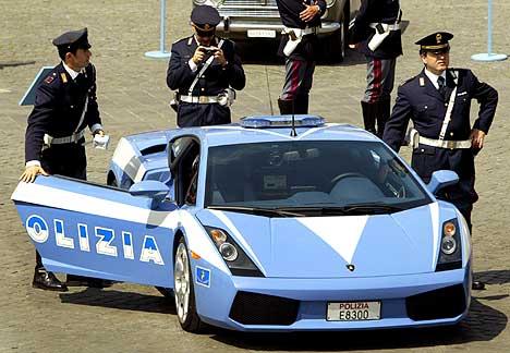 Lamborghini Gallardo Italian Police Car
