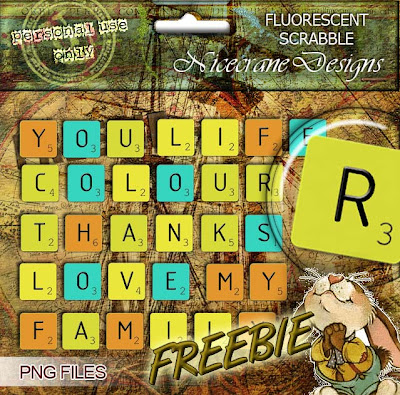 http://nicecranedesigns.blogspot.com/2009/08/fluorescent-scrabble-and-new-freebie.html