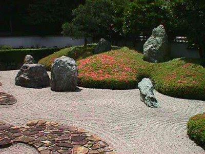 Moclan Gardens Stone In The Japanese Rock Garden