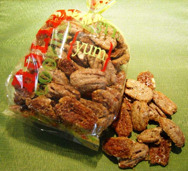 Diabetics rejoice spiced pecans are you looking for a gift to make the special pwd person with diabetes in your life this holiday season spiced nuts are a christmas tradition forumfinder Choice Image