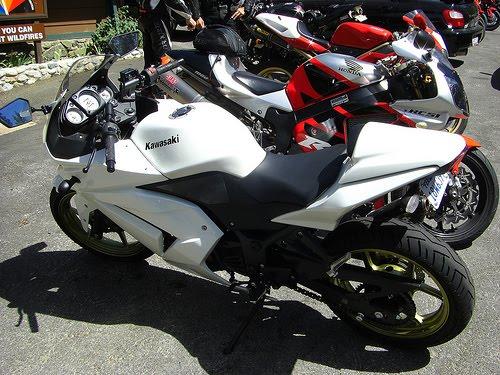 Kawasaki 250cc Ninja Bike. What about Kawasaki Ninja