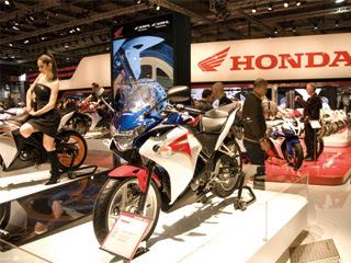 Honda CBR250R bike