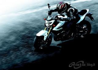 Suzuki GSR 750 rider