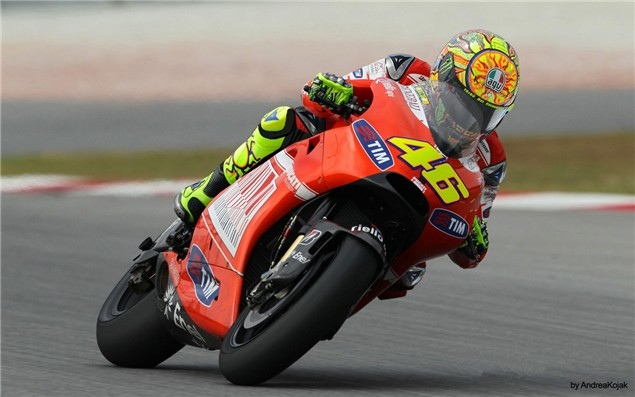 "*Update Jan 2011 : the real ducati rossi bike cheks this out here ""Rossi"