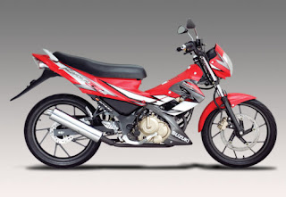 Suzuki Raider 150 red