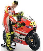 Valentino Rossi and Ducati MotoGP