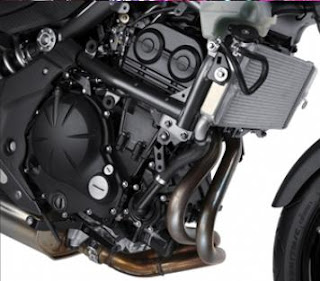 2011 Kawasaki Ninja 650R liquid-cooled