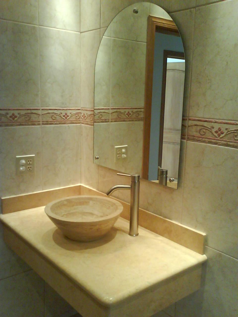 Arenados y vitrales espejos para ba o y estancias - Espejos de aumento para bano ...