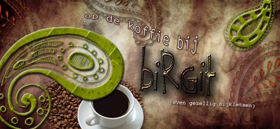 op de koffie bij Birgit