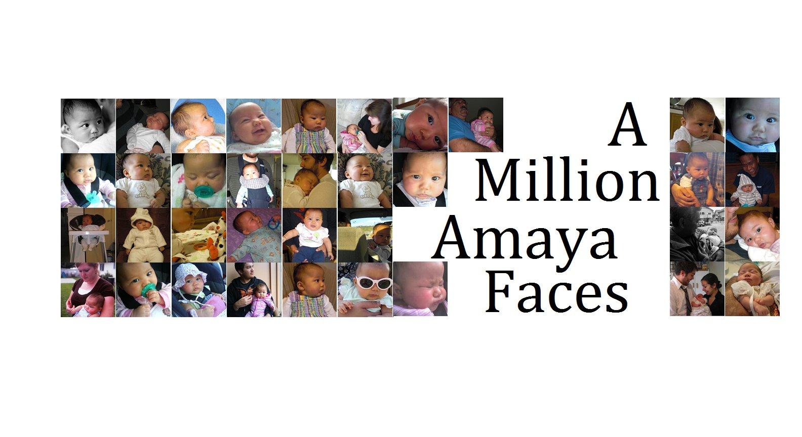 A Million Amaya Faces