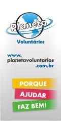 """SITE PARCEIRO: """"PLANETA VOLUNTÁRIOs"""""""