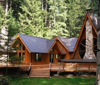 casa de vacanta lemn