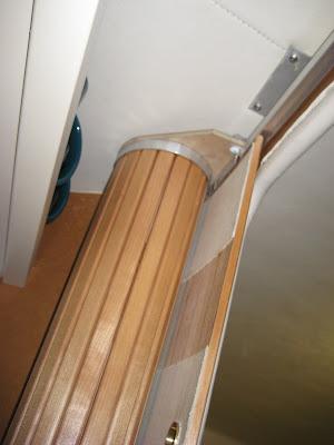 & 1999 310DA Sea Ray Updates: Tambour Door - Door Tracks