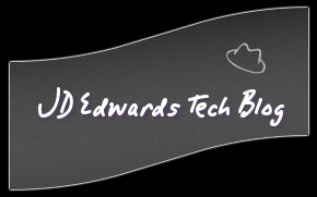 JD Edwards Tech Blog