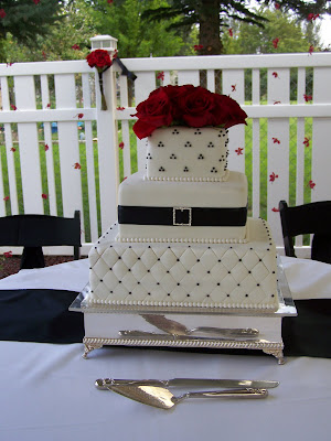 pictures of wedding cakes with bling. Add some ling to your cake!