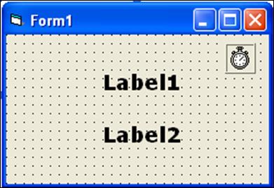 Komponen Timer pada Visual Basic