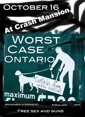 Worst Case Ontario Play Crash Mansion on Thursday, October 16th