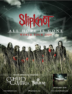 Slipknot Announces Early '09 Tour with Coheed and Cambria