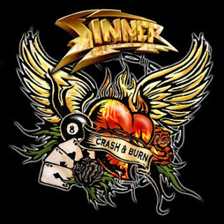 Sinner - Crash & Burn CD Review (Candlelight Records)