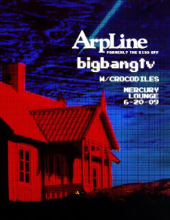 ArpLine Makes Their Live Debut at Mercury Lounge on June 20th