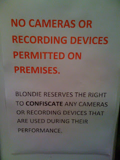 Blondie - Live at Brooklyn Museum, Brooklyn 10=29-09