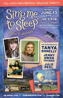 Tanya Donelly and Friend Play Benefit Show at Joe's Pub on June 13th