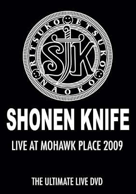 Shonen Knife - Live at Mohawk Place 2009 DVD Review // Show at the Knitting Factory on Sept. 28th