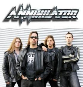 Annihilator: Earache Records Releases