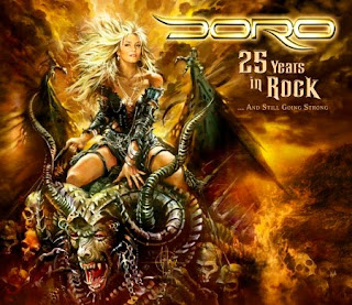 Doro: Exclusive Interview with BrooklynRocks, Sept. '10 // 25th Anniversary Concert Out in Europe Next Month