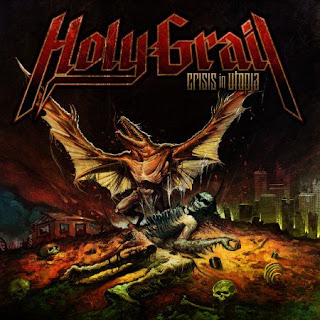 Holy Grail: Crisis in Utopia CD Review // Show at Gramercy Theater on Feb. 2nd