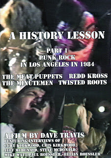 History Lesson Part 1: Unreleased Live Footage of The Meat Puppets, The Minutemen, Twisted Roots and Redd Kross Out on DVD on March 22nd