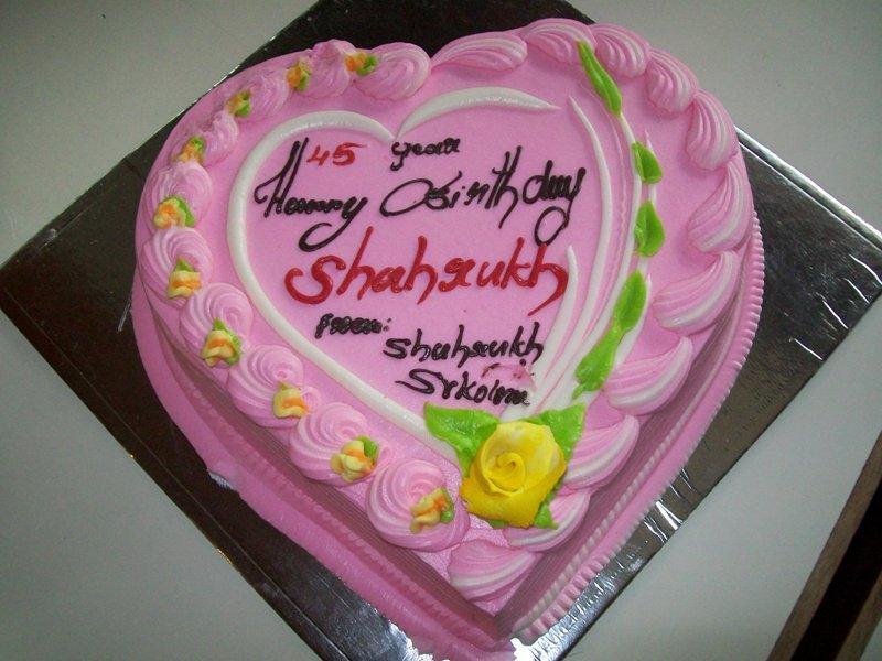 Cake Images With Name Gauri : SRK Birthday Cake - ShahRukhSRK.com #happybirthdaysrk ...