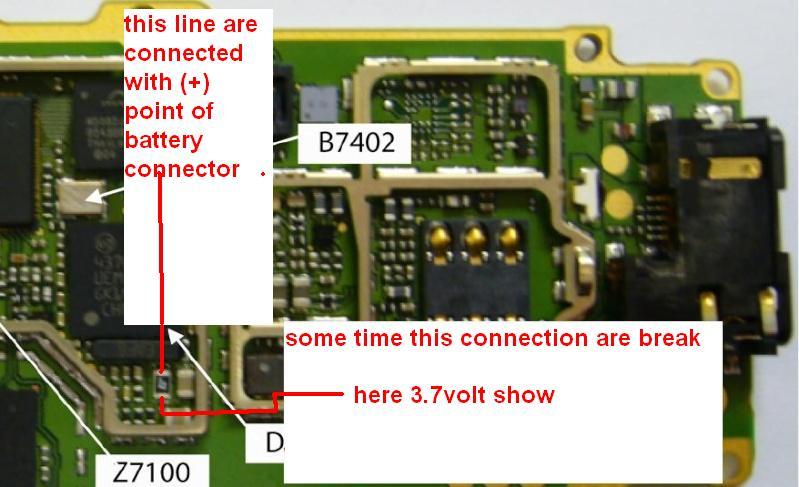 Kumpulan Trik jumper lampu LED dan LCD pada HP nokia 1100,1110,1200