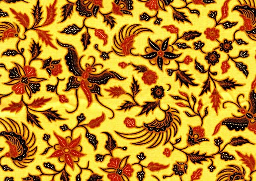 Example of Indonesian Batik pattern made in Yogyakarta, which includes ...