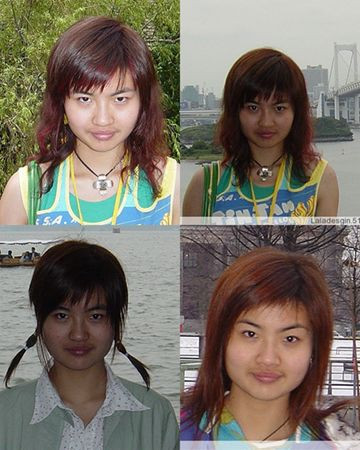 Ulzzang Look   Perfect faceUlzzang Transformation Before And After