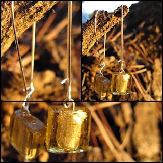 bisuteria cristales dorados